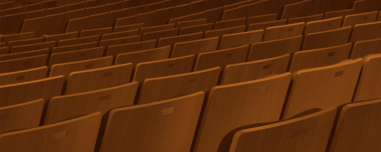 BPAC Main Theatre seats