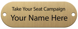 Seat plaque sample