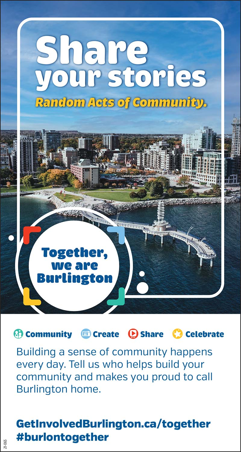 Together, We Are Burlington poster